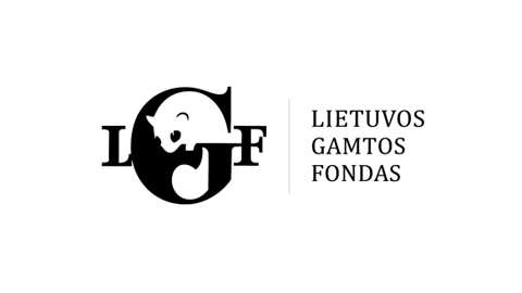 Logo of clients protecting Lithuanian nature