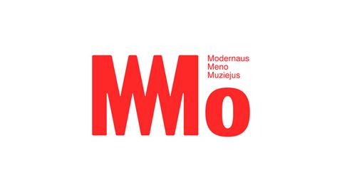 Modernaus meno muziejaus logotipas